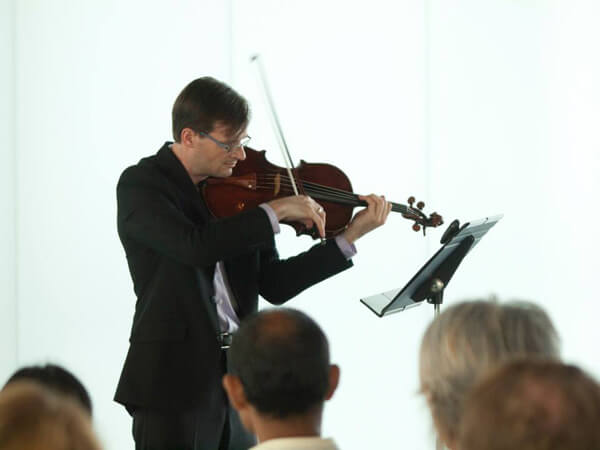 Violist Michael Hall Recital Closes UMKC Summer Composition Workshop