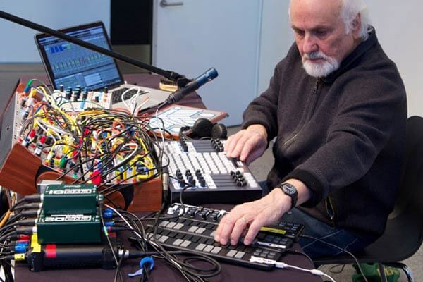 Morton Subotnick (photo credit: timara.oberlin.edu)