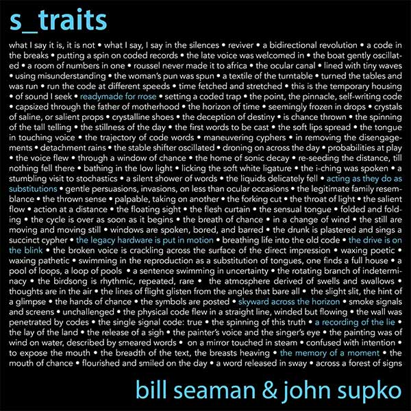 Supko & Seaman's s_traits: Man + Man + Machine