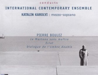 Gallois Conducts Boulez with the International Contemporary Ensemble