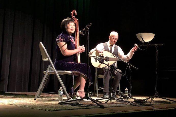 Issam Rafea and Gao Hong