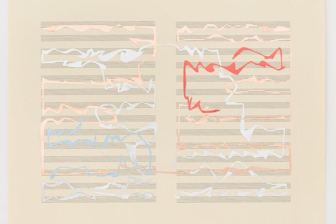 Interactive notation score by Jess Rowland
