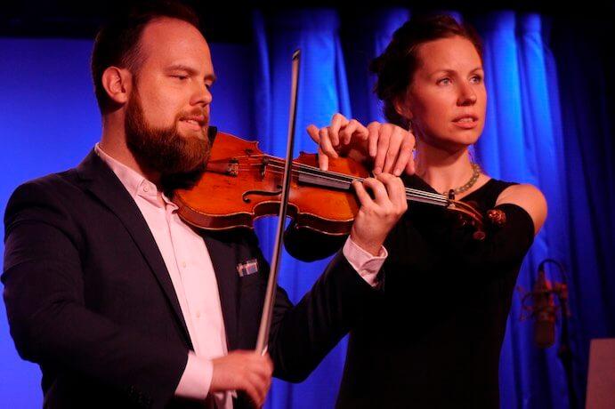 Joshua Modney and Kate Soper