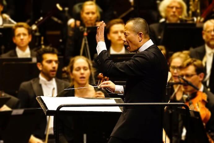 Tan Dun conducts the Oslo Philharmonic at Ultima Oslo Contemporary Music Festival