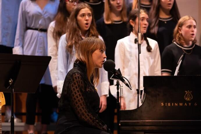 Wye Oak and Brooklyn Youth Chorus--Photo by David Andrako