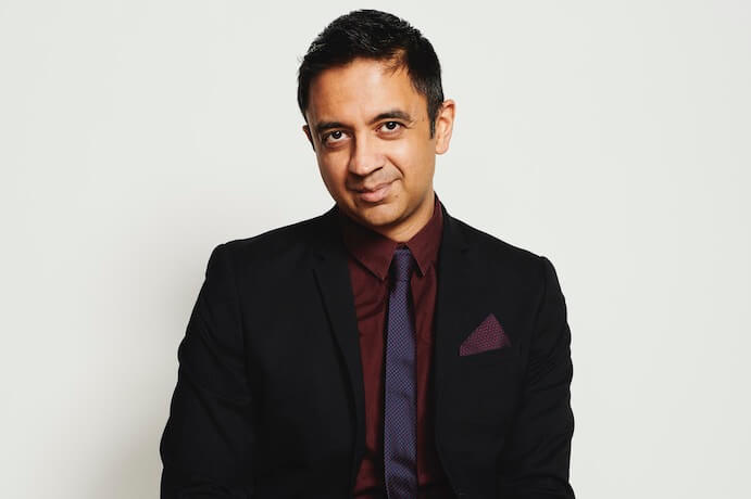 Vijay Iyer--Photo by Kyle Dorosz for Miller Theatre