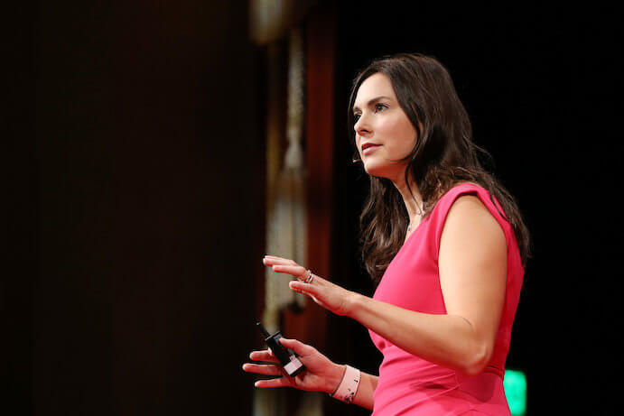 Indre Viskontas--Photo courtesy TEDx San Francisco