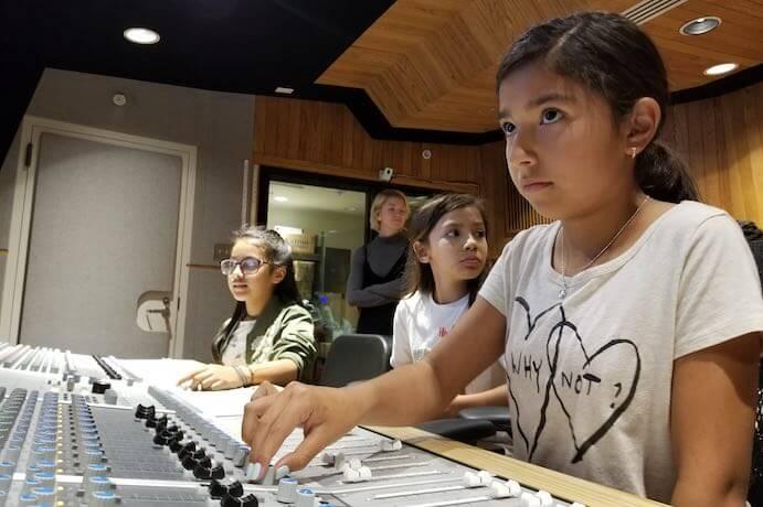 Women's Audio Mission--Photo courtesy of WAM